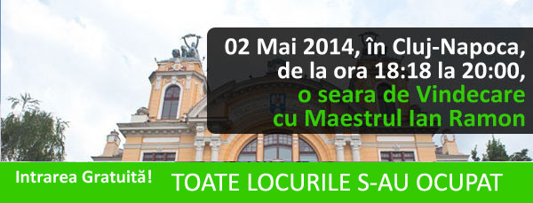 Poza Seara de vindecare cu Ian Ramon Cluj-Napoca 02-Mai-2014